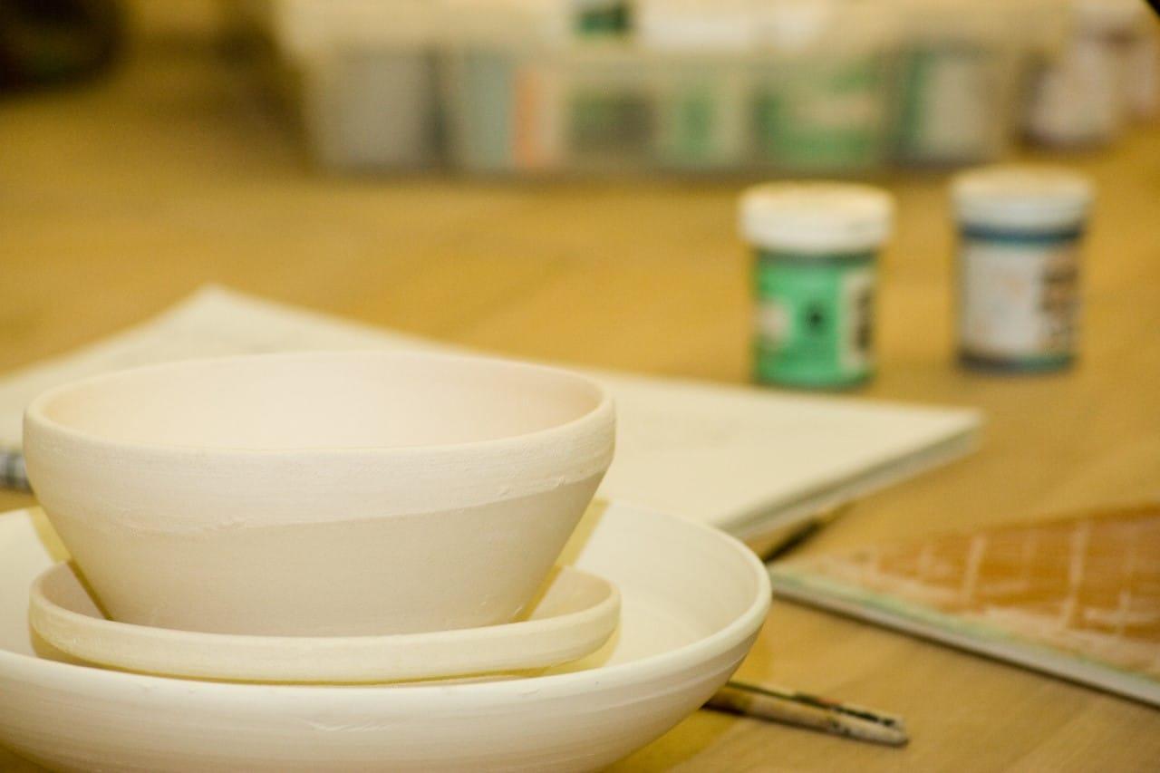 Pottery class bowl